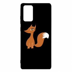 Etui na Samsung Note 20 Small fox