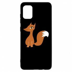 Etui na Samsung A31 Small fox