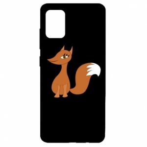 Etui na Samsung A51 Small fox