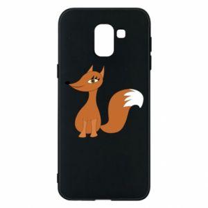 Etui na Samsung J6 Small fox