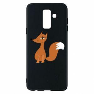Etui na Samsung A6+ 2018 Small fox