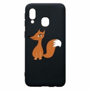Etui na Samsung A40 Small fox