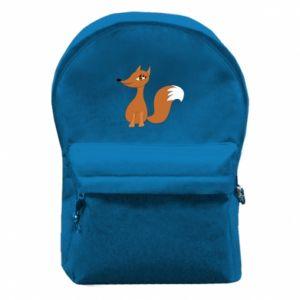 Plecak z przednią kieszenią Small fox