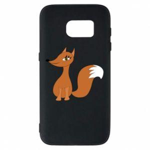 Etui na Samsung S7 Small fox