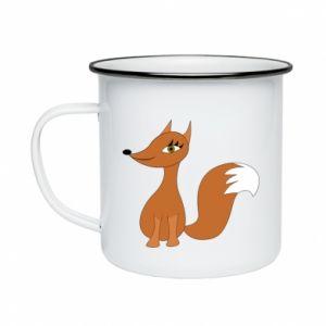 Kubek emaliowany Small fox