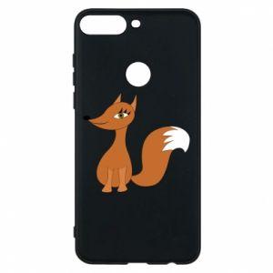 Etui na Huawei Y7 Prime 2018 Small fox