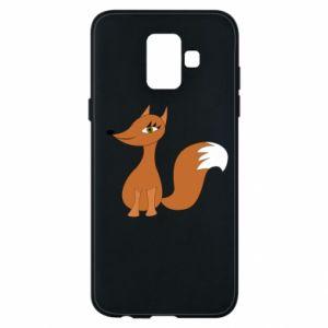 Etui na Samsung A6 2018 Small fox