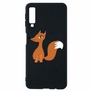 Etui na Samsung A7 2018 Small fox