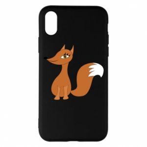 Etui na iPhone X/Xs Small fox