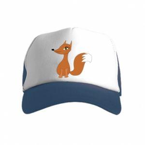 Kid's Trucker Hat Small fox