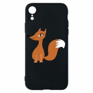 Etui na iPhone XR Small fox