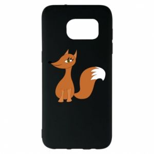 Etui na Samsung S7 EDGE Small fox