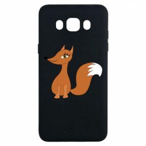 Etui na Samsung J7 2016 Small fox