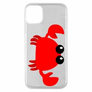 Etui na iPhone 11 Pro Small pink crab