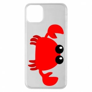 Etui na iPhone 11 Pro Max Small pink crab