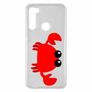 Etui na Xiaomi Redmi Note 8 Small pink crab