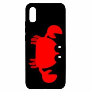 Etui na Xiaomi Redmi 9a Small pink crab