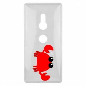 Etui na Sony Xperia XZ2 Small pink crab