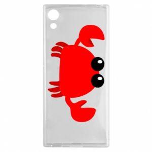 Etui na Sony Xperia XA1 Small pink crab