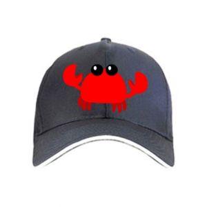 Czapka Small pink crab