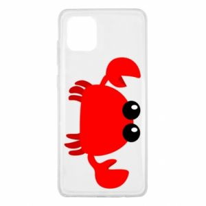 Etui na Samsung Note 10 Lite Small pink crab