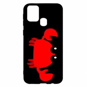 Etui na Samsung M31 Small pink crab