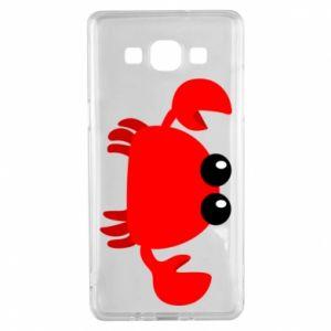 Etui na Samsung A5 2015 Small pink crab