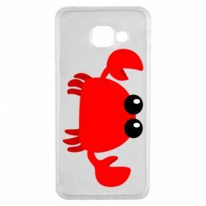 Etui na Samsung A3 2016 Small pink crab