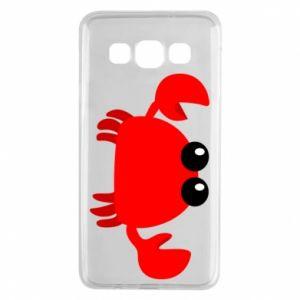 Etui na Samsung A3 2015 Small pink crab