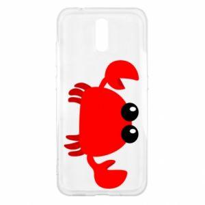 Etui na Nokia 2.3 Small pink crab
