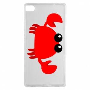 Etui na Huawei P8 Small pink crab