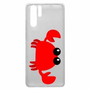 Etui na Huawei P30 Pro Small pink crab