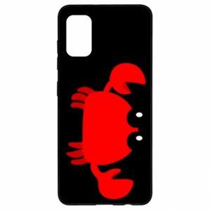 Etui na Samsung A41 Small pink crab