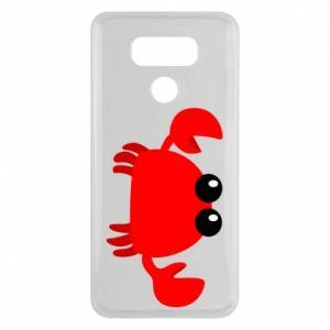 Etui na LG G6 Small pink crab