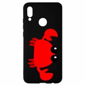 Etui na Huawei P Smart 2019 Small pink crab