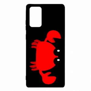 Etui na Samsung Note 20 Small pink crab