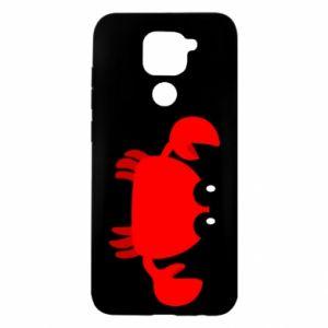 Etui na Xiaomi Redmi Note 9/Redmi 10X Small pink crab