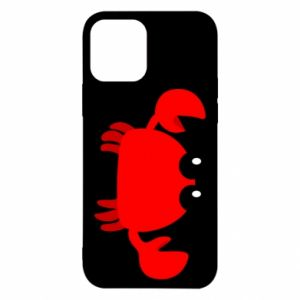 Etui na iPhone 12/12 Pro Small pink crab