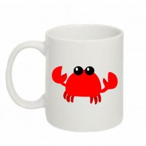 Kubek 330ml Small pink crab