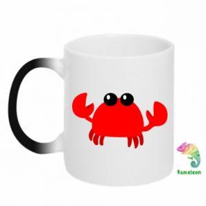 Kubek-magiczny Small pink crab
