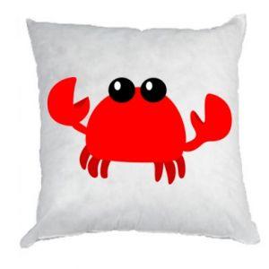 Poduszka Small pink crab