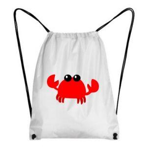 Plecak-worek Small pink crab