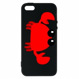 Etui na iPhone 5/5S/SE Small pink crab