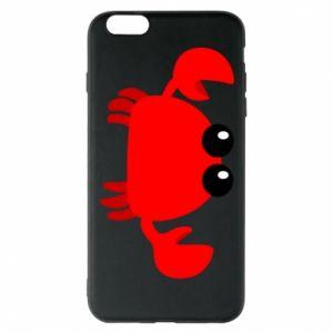 Etui na iPhone 6 Plus/6S Plus Small pink crab
