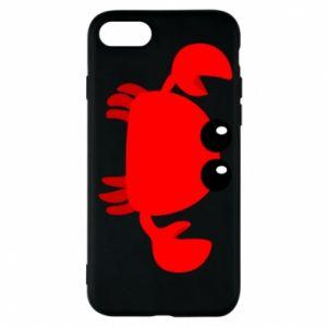 Etui na iPhone 7 Small pink crab