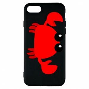 Etui na iPhone 8 Small pink crab