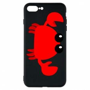 Etui na iPhone 8 Plus Small pink crab