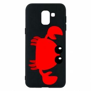 Etui na Samsung J6 Small pink crab