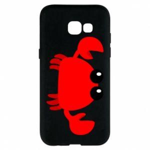 Etui na Samsung A5 2017 Small pink crab