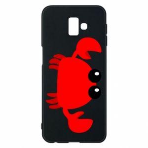 Etui na Samsung J6 Plus 2018 Small pink crab